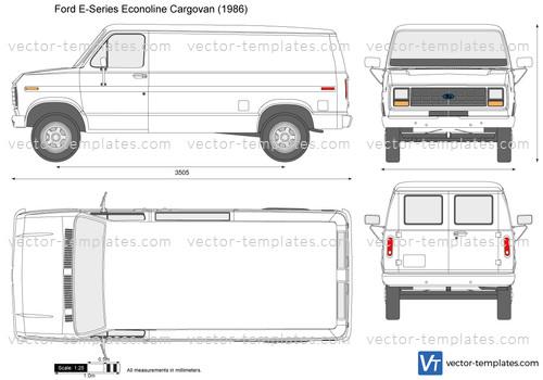 Ford E-Series Econoline Cargovan