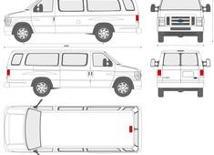 Ford E-Series Passenger Van