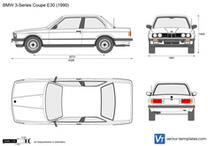 BMW 3-Series Coupe E30
