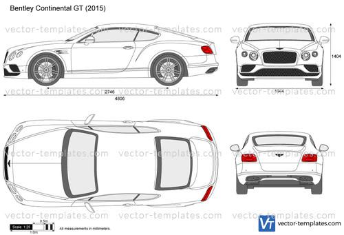 Templates Cars Bentley Bentley Continental Gt