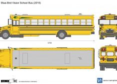 Blue-Bird Vision School Bus
