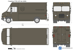 Freightliner P70D UPS Van