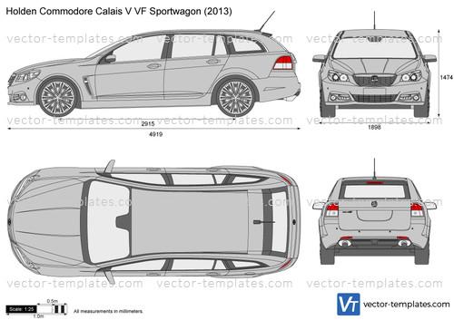 Holden Commodore Calais V VF Sportwagon