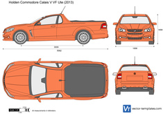 Holden Commodore Calais V VF Ute