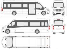 Mercedes-Benz Sprinter CUBY City Line Long Bus