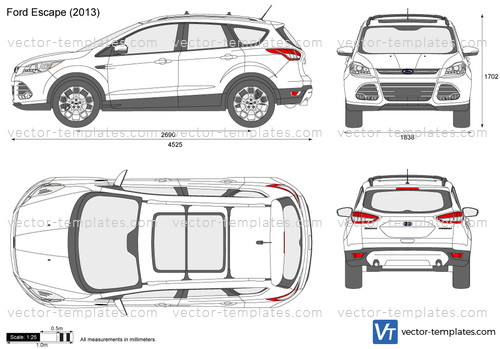 2016 Buick Grand National >> Templates - Cars - Ford - Ford Escape