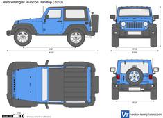 Jeep Wrangler Rubicon Hardtop JK