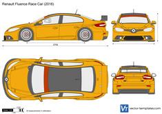 Renault Fluence Race Car