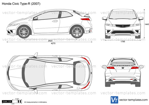 Templates Cars Honda Honda Civic Type R