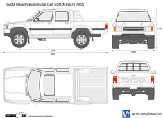 Toyota Hilux Pickup Double Cab SSR-X 4WD