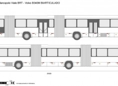 Marcopolo Viale BRT - Volvo B340M BIARTICULADO