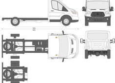 Ford Transit Chassis Cab L3 LWB