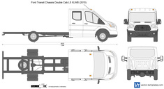 Ford Transit Chassis Double Cab L5 XLWB