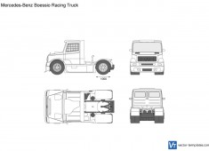Mercedes-Benz Boessio Racing Truck