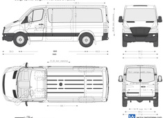 Dodge Sprinter Cargo 144 inch 8850 SR