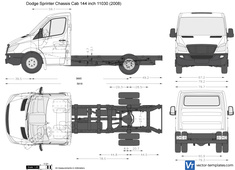 Dodge Sprinter Chassis Cab 144 inch 11030