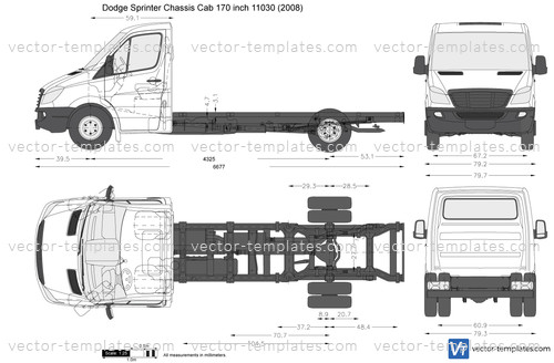Dodge Sprinter Chassis Cab 170 inch 11030