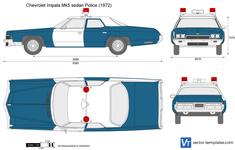 Chevrolet Impala Mk5 sedan Police