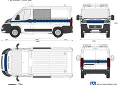 Fiat Ducato Police Van