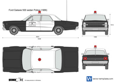 Ford Galaxie 500 sedan Police