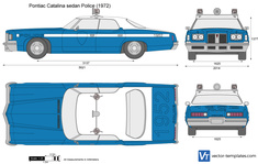 Pontiac Catalina sedan Police