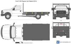 Ford F-350 Regular Cab Flatbed