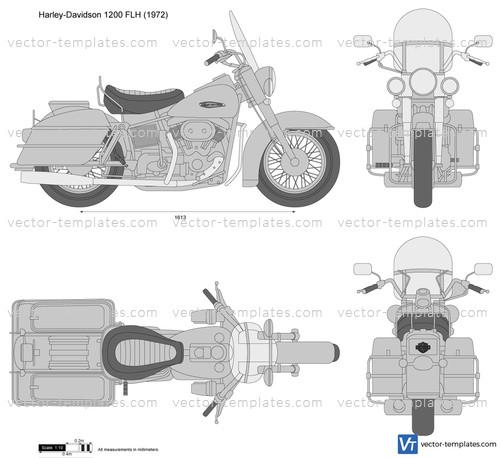 Harley-Davidson 1200 FLH
