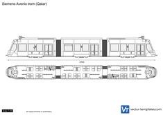 Siemens Avenio tram (Qatar)