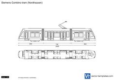 Siemens Combino tram (Nordhausen)