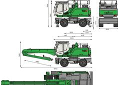 Sennebogen 718 M Crane
