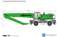 Sennebogen 840E Material Handling machine