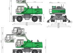 Sennebogen 860M Material Handling machine