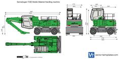 Sennebogen 723E Mobile Material Handling machine