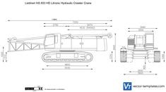 Liebherr HS 853 HD Litronic Hydraulic Crawler Crane