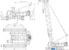 Liebherr LR 1140 Crawler Crane