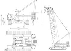 Liebherr LR 1280 Crawler Crane