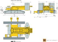 Liebherr LR 135.1 Crawler Crane
