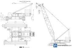 Liebherr LR 1400.2 Crawler Crane