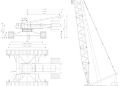 Liebherr LR 1800 Crawler Crane