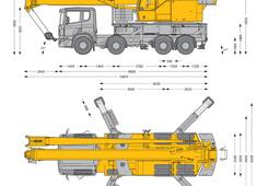 Liebherr LTF 1045-4.1 Truck Mounted Telescopic Crane