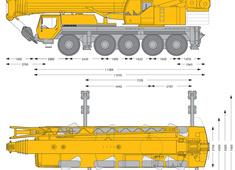 Liebherr LTM 1100-5.1 Mobile Crane