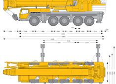 Liebherr LTM 1150-5.1 Mobile Crane