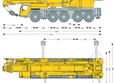 Liebherr LTM 1160-5.1 Mobile Crane
