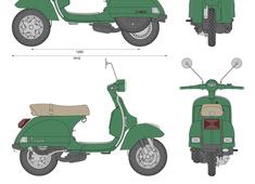Piaggio Vespa PX 125
