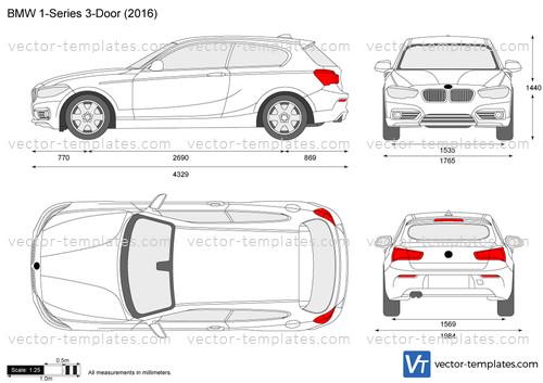 Templates Cars Bmw Bmw 1 Series 3 Door F21