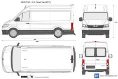 MAN TGE L1H2 Panel Van