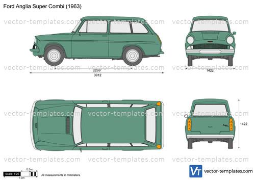 Ford Anglia Super Combi