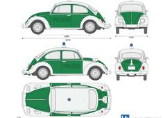 Volkswagen Beetle Police Car