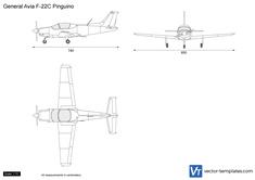 General Avia F-22C Pinguino