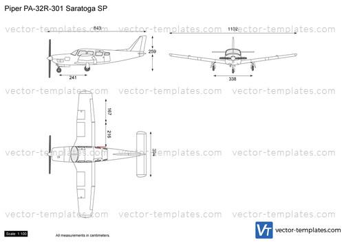 Piper PA-32R-301 Saratoga SP